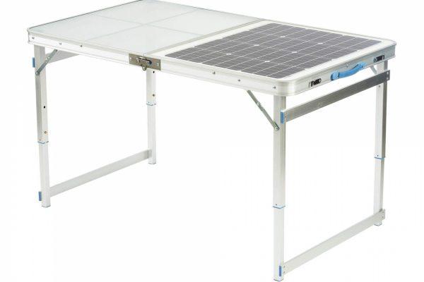 Kempingový stůl <small>se solárním panelem 60W</small>