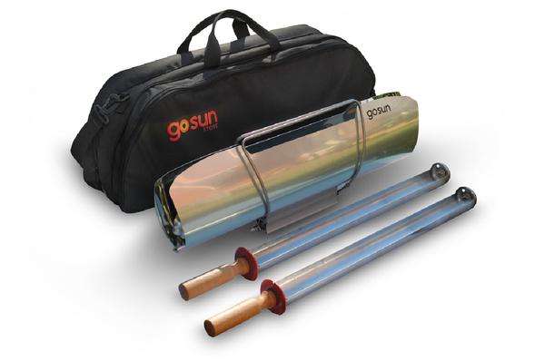 GoSun Sport Pro Pack – solární vařič s brašnou a s varnou miskou navíc