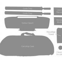GoSun Sport Pro Pack – kompletní obsah balení