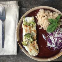Solární vařič GoSun Sport – hotové jídlo, ryba, rýže