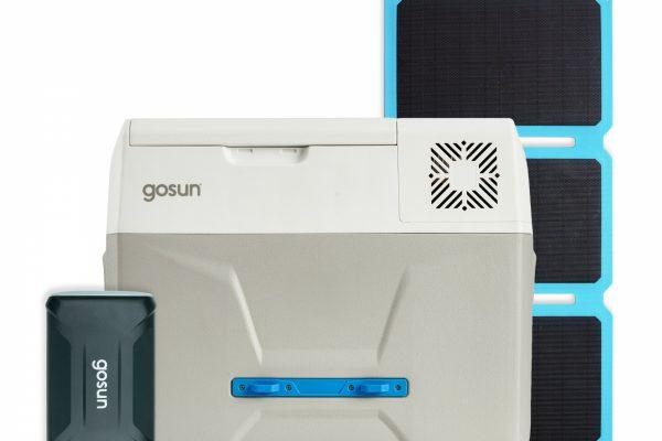 Set GoSun lednice + Solar Panel 30W+