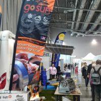 Solární gril na veletrhu Caravaning Brno 2017
