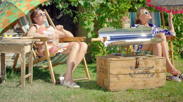 Solární gril a vařič v pořadu Herbář, Kateřina Winterová a Linda Rybová