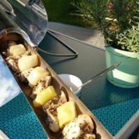 Kuřecí nugetky s pórkem po provensálsku