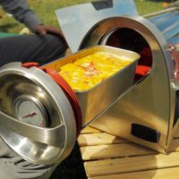 Vaření v GoSun Grill zahradní gril