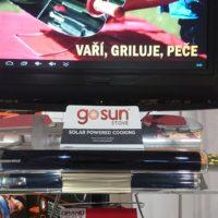 Fotky solárního vařiče a grilu z veletrhu For Garden 2017